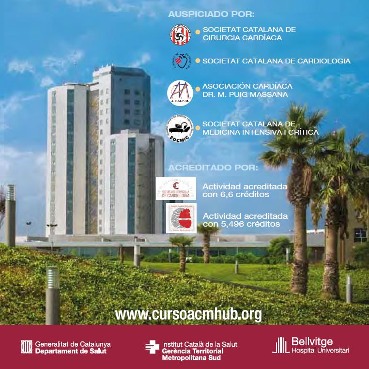CURSO INTERNACIONAL ASISTENCIA CIRCULATORIA MECÁNICA y nuevas tecnologías en la insuficiencia cardíaca avanzada